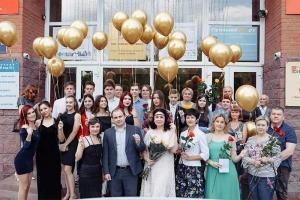 Выпускной в Российско-Британской школе 2019